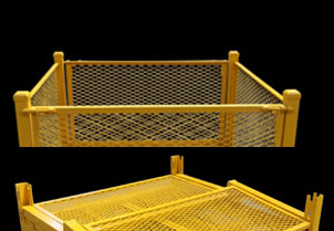 Powder Coated Wire Cages
